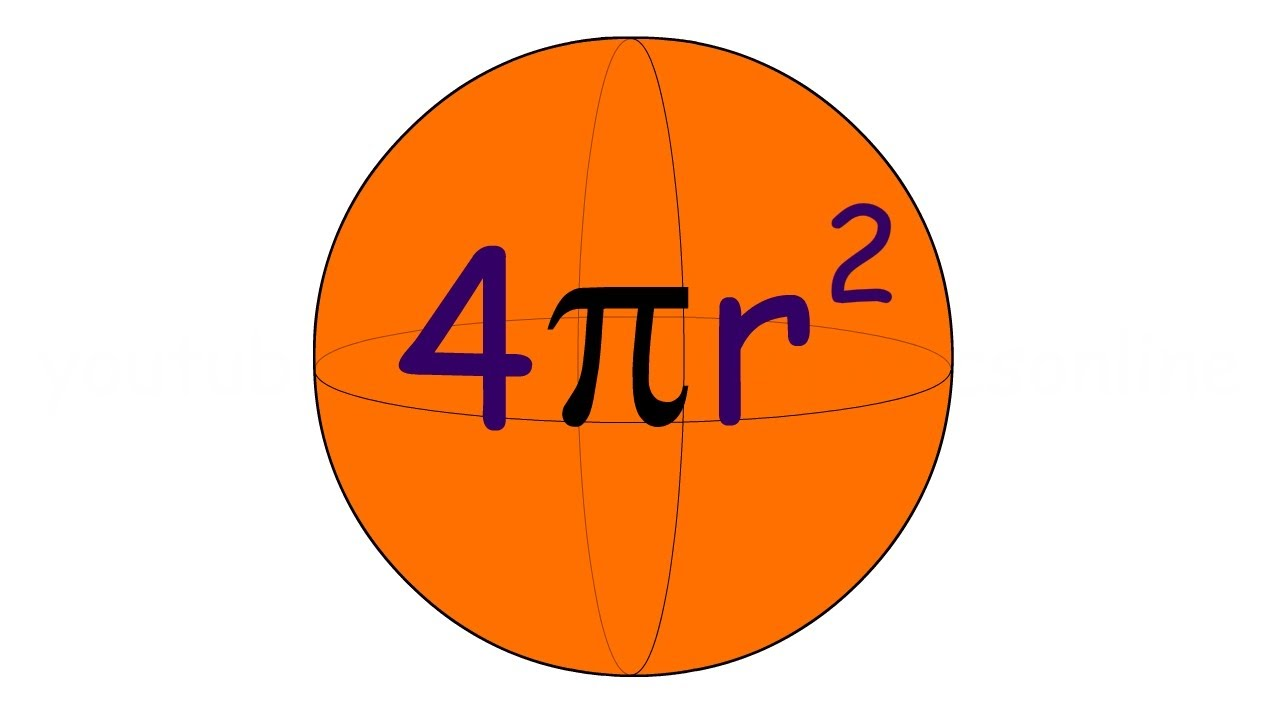 4 pi r squared - ELSiE... Dear Math