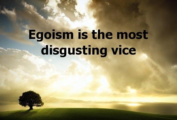 Egoistic